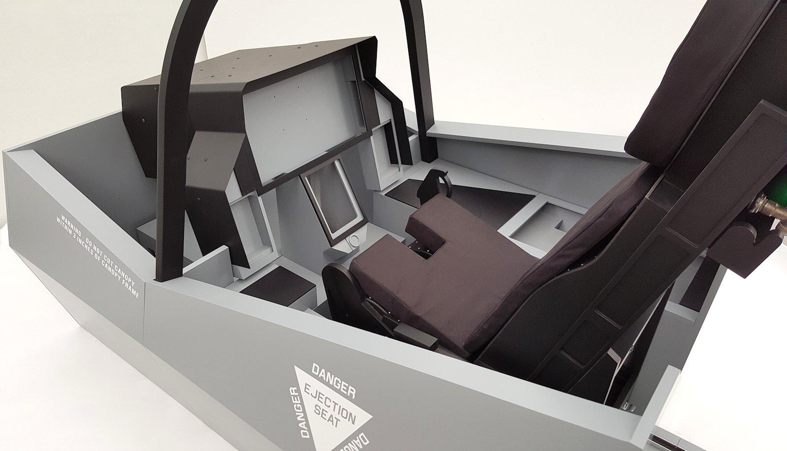 F35 Lightning II Simulator Frame